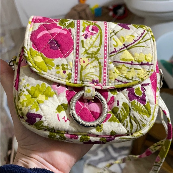 Vera Bradley Small Floral Print Crossbody Bag